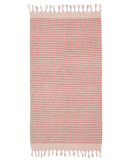 DUSTY PINK WOMENS ACCESSORIES MAYDE TOWELS - 19CRESPNKPNK