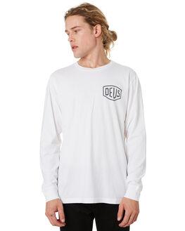 WHITE MENS CLOTHING DEUS EX MACHINA TEES - DMA61831CWHT