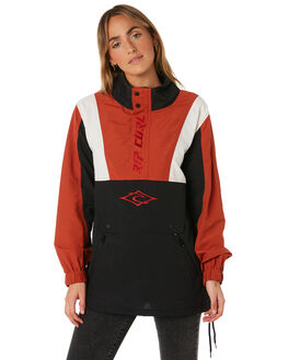 RED WOMENS CLOTHING RIP CURL JACKETS - GJKDP10040
