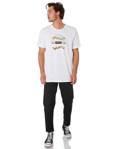 WHITE MENS CLOTHING HURLEY TEES - CI2940100