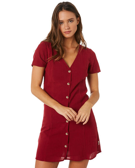 OX BLOOD WOMENS CLOTHING INSIGHT DRESSES - 5000003582OXB