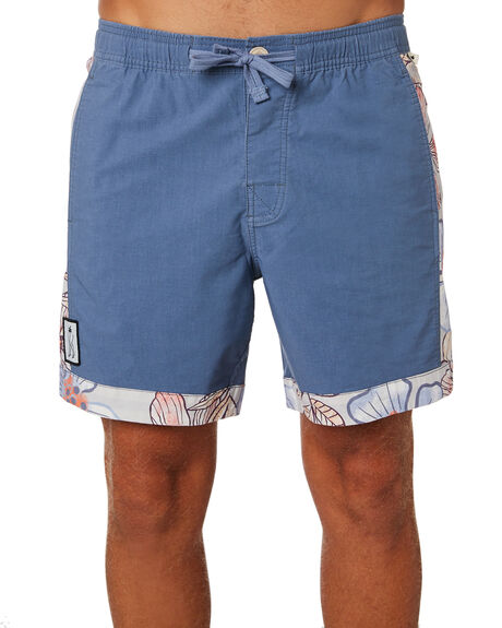 FADED COBALT MENS CLOTHING THE CRITICAL SLIDE SOCIETY BOARDSHORTS - BS1879FCLBT