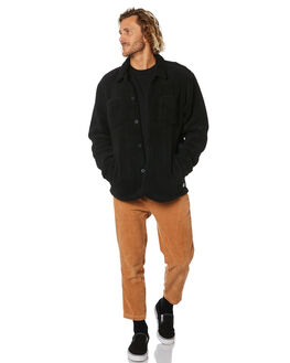 DIRTY BLACK MENS CLOTHING BANKS JUMPERS - WFL0237DBL