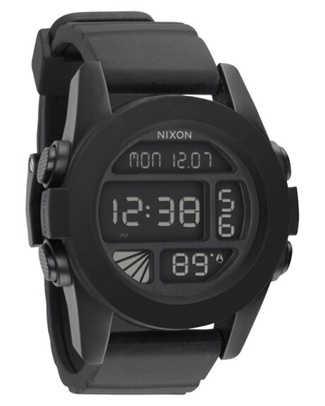BLACK MENS ACCESSORIES NIXON WATCHES - A197000BLK