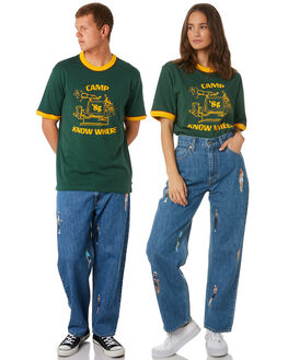 DARK GREEN UNISEX ADULTS LEVI'S  - 84360-0000DKGRN