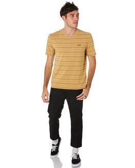 TOBACCO MENS CLOTHING RHYTHM TEES - CON00M-CT01-TOB