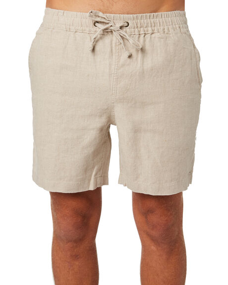 OATMEAL MENS CLOTHING ACADEMY BRAND SHORTS - 20S609OAT