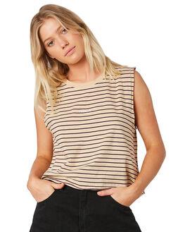 CLAY WOMENS CLOTHING RVCA SINGLETS - R281661C98