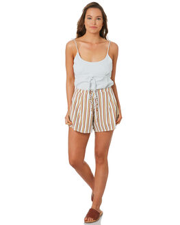 MULTI WOMENS CLOTHING ZULU AND ZEPHYR SHORTS - ZZ2782MUL