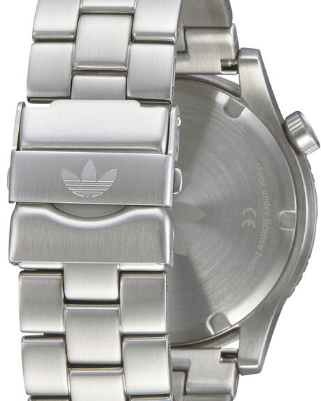SILVER WHITE MENS ACCESSORIES ADIDAS WATCHES - Z03-391-00SIL