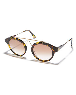 TORTOISE WOMENS ACCESSORIES VIEUX EYEWEAR SUNGLASSES - VX001DTRT