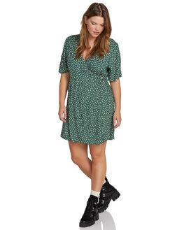 GREEN WOMENS CLOTHING VOLCOM DRESSES - B1331906PGRN