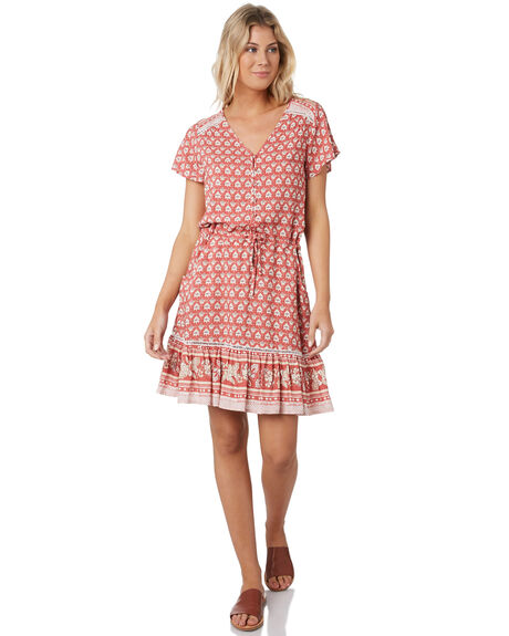 DUSTY ROSE OUTLET WOMENS RIP CURL DRESSES - GDRCK90577
