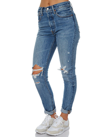 OLD HANGOUTS WOMENS CLOTHING LEVI'S JEANS - 29502-0008OLH