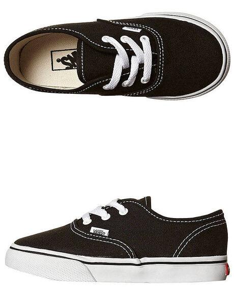 BLACK KIDS BOYS VANS FOOTWEAR - VN-0ED9BLK