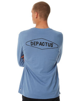 MALTA BLUE WASH MENS CLOTHING DEPACTUS TEES - D5184101MABWS