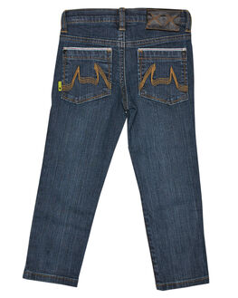 BEATEN BLUE KIDS BOYS MUNSTER KIDS PANTS - MK162JE05BTBLU