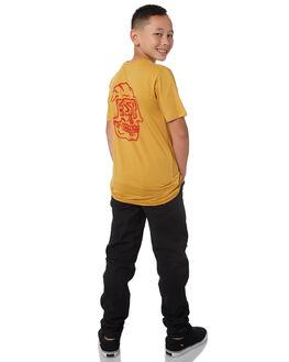 HONEY GOLD KIDS BOYS ELEMENT TEES - 383005HNYGL