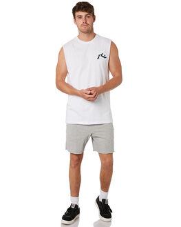 GREY MARLE MENS CLOTHING RUSTY SHORTS - WKM0945GMA