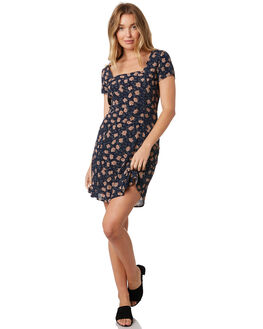 GOLDEN FLOWERS WOMENS CLOTHING ROLLAS DRESSES - 12992-4473