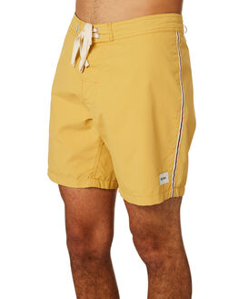 VINTAGE YELLOW MENS CLOTHING RHYTHM BOARDSHORTS - APR19M-TR03-YEL