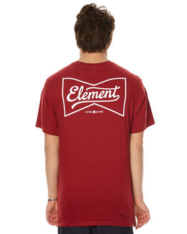 CLASSIC RED MENS CLOTHING ELEMENT TEES - 173001CRED