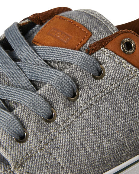 GREY OUTLET MENS GLOBE SNEAKERS - GBGS14285