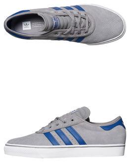 GRY COLLEGIATE ROYAL MENS FOOTWEAR ADIDAS ORIGINALS SKATE SHOES - CQ1075GYRO