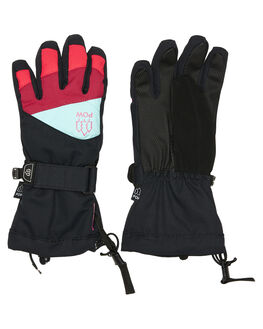 PINK BOARDSPORTS SNOW POW GLOVES - ASG-B-S-HIP-PKPNK