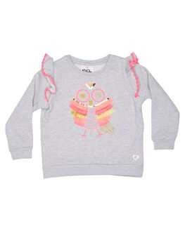GREY MARLE KIDS TODDLER GIRLS EVES SISTER JUMPERS - 8010047GRM