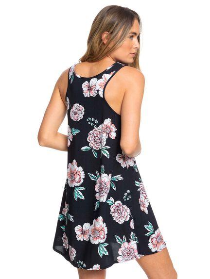 ANTHRACITE SEPT WOMENS CLOTHING ROXY DRESSES - ERJWD03400-XKKM