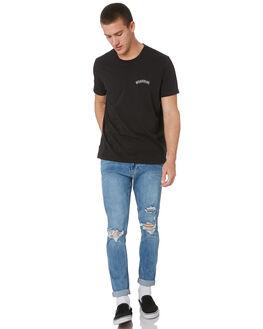 FAST LANE INDIGO MENS CLOTHING WRANGLER JEANS - W-901548-LC3FLIND