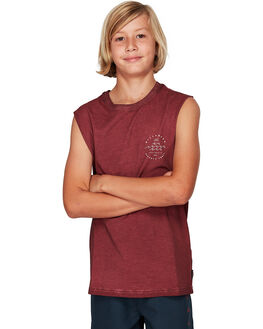 OXBLOOD KIDS BOYS BILLABONG TOPS - BB-8592503-OX2