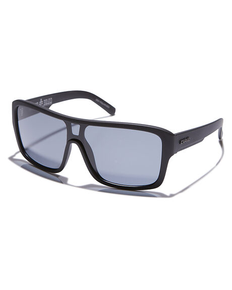 MATT BLACK MENS ACCESSORIES CARVE SUNGLASSES - 3031MTBLK