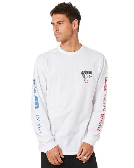 WHITE MENS CLOTHING VANS TEES - VN0A4MRXWHTWHT