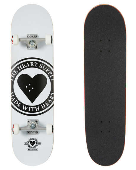 WHITE BOARDSPORTS SKATE THE HEART SUPPLY COMPLETES - HS020101700A8250WHT