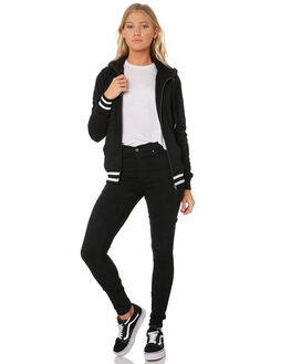 BLACK WOMENS CLOTHING VOLCOM JUMPERS - B3131714BLK