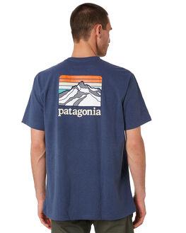DOLOMITE BLUE MENS CLOTHING PATAGONIA TEES - 38441DLMB