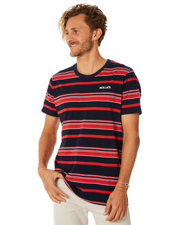 RED BLUE MENS CLOTHING ROLLAS TEES - 152981008