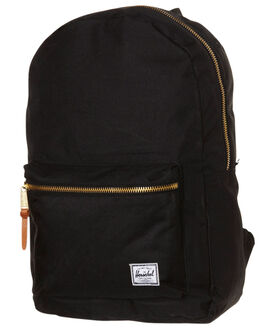 BLACK MENS ACCESSORIES HERSCHEL SUPPLY CO BAGS + BACKPACKS - H1253501BLK