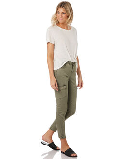 WASHED ARMY WOMENS CLOTHING SWELL PANTS - S8189191WSHAY