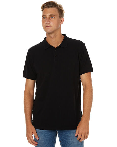 BLACK MENS CLOTHING SWELL SHIRTS - S5162140BLK