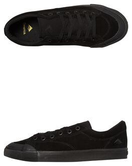 BLACK BLACK MENS FOOTWEAR EMERICA SKATE SHOES - 6101000102-544