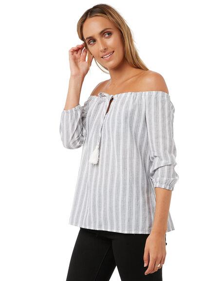 STRIPE WOMENS CLOTHING ELWOOD FASHION TOPS - W73304STR