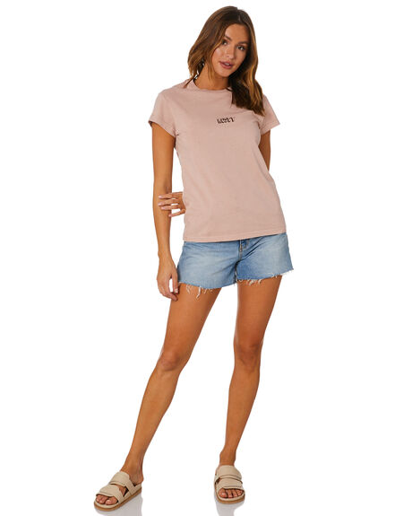 ROSE CLOUD OUTLET WOMENS RUSTY TEES - TTL1121RSC