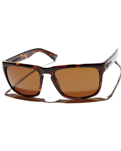 TORTOISE SHELL BRONZE MENS ACCESSORIES ELECTRIC SUNGLASSES - EE09010639TORBR