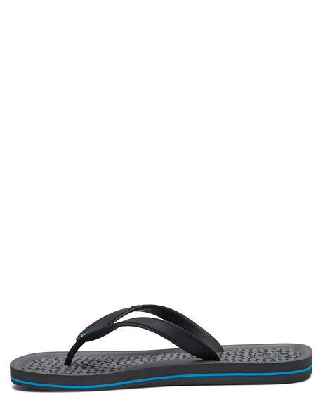 BLACKBLACK MENS FOOTWEAR REEF THONGS - 2526BK2