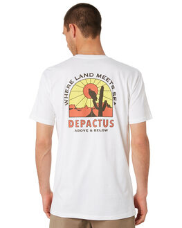 WHITE MENS CLOTHING DEPACTUS TEES - D5201010WHITE
