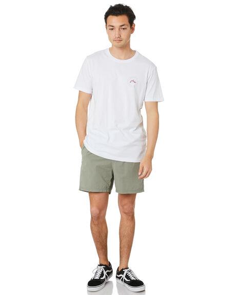 WHITE MENS CLOTHING RUSTY TEES - TTM2495WHT