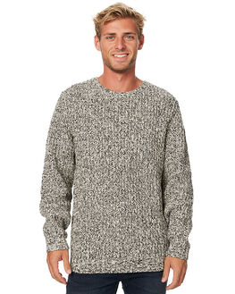 SHELL BLACK MENS CLOTHING RUSTY KNITS + CARDIGANS - CKM0306SLL